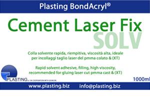 Cement Laser FIX ml.1000 colla solvente rapida riempitiva viscos