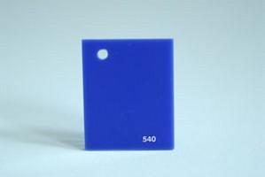 Lastra acrilica GS blu opal 540 Cod.C03TM/540