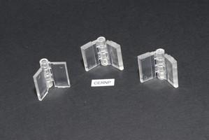 Cerniera in acrilico trasp. stampata mm.24x31 Cod.CERNP