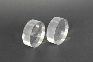 Cilindro in acrilico colato trasparente lucidi D.mm.50 Cod.CT50/