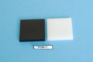 Lastra in resina acetalica nera POM-C mm.16 tagl.misura Cod.DL16