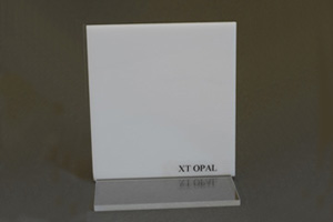 Lastra acrilica opal Cod.E03/OP1X10