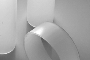 Tubo estruso resina acrilica SATINATO D.mm.70/64 cod.070/64S