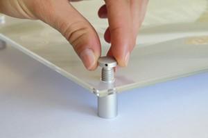 distanziali serie in alluminio anodizzato Cod.FMX1320AL