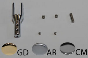 distanziali serie UNIVERS dorato lucido Cod.FU1549GD