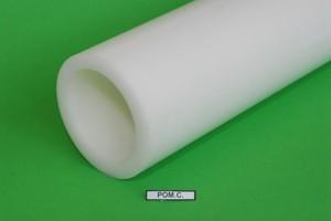 Manicotto in resina acetalica POMC naturale D.mm.90/70 Cod.POMC0