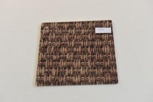 Lastra in acrilico monocolata con tessuto mm.8 Cod. MS08/TPI