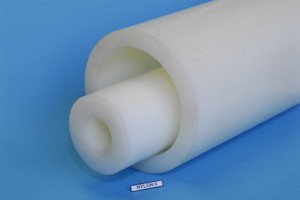 Manicotto poliammide PA6 colore naturale D.mm.100/60 Cod.NY100/6