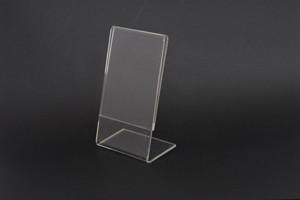 Portafoto in acrilico TR a fili lucidi MM.100X150HX2 Cod.PF3