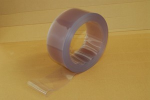 Striscia flessibile mm.400x4 in cloruro di polivinile TR Cod.PVC