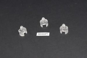 Supporto cilindrico D.mm.13x8 con incastro per reggere mensole m
