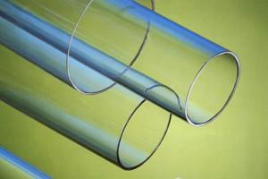 Tubo estruso resina acrilica trasparente cod.022/18