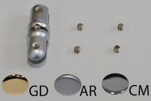 distanziale serie SIGNHOLD DOUBLE argento opaco Cod.YSD1544AR