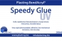 Speedy Glue ml.200 colla rapidissima fotocatalizzante a bassa tenuta meccanica.