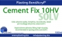 Cement FIX 10HV ml.1000, colla solvente rapida, riempitiva.