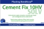 Cement FIX 10HV ml.50, colla solvente rapida, riempitiva in tubetto alluminio