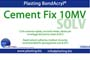 Cement FIX 10 MV ml.1000, colla solvente rapida, riempitiva.