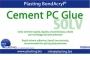 Cement PC glue, colla solv.kg.1 rapida x policarbonato, liquida, viscosità bass