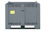 Cargopallet lt.600 PLUS + travette grigio alimentare