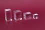 Cubetti in acrilico colato trasparente lucidi mm.40x40