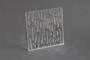 Lastra resina acrilica estrusa Corteccia 18 incolore mm.5