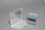 Lastra in resina acrilica a specchio silver mm.2 tagl.